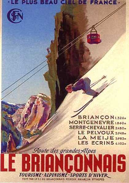 Le Brianconnais by JP. Poissonnie (1947)