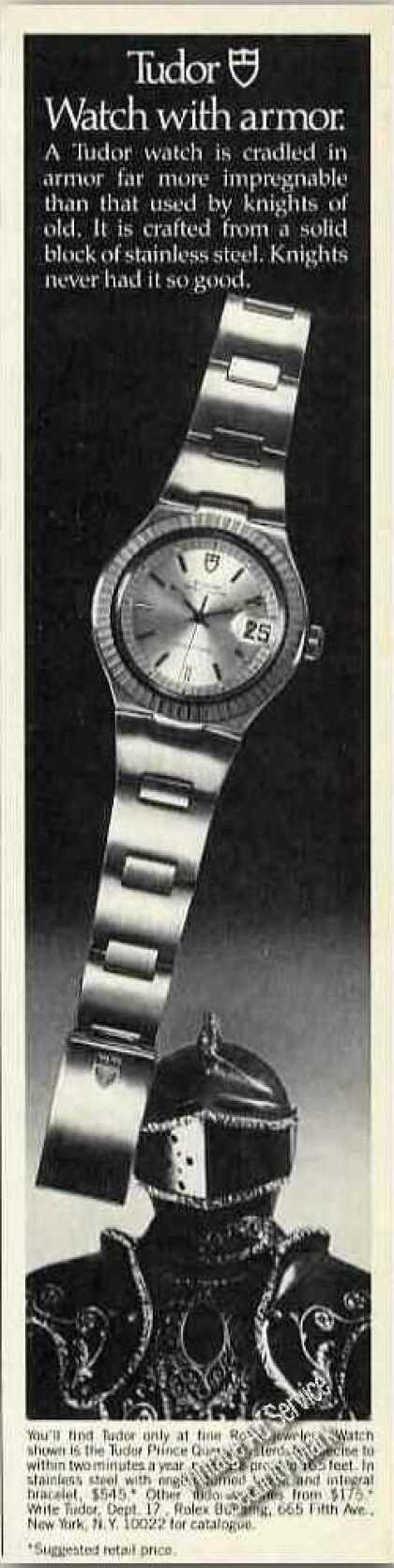 Tudor Price Quartz Oysterdate Watch (1979)