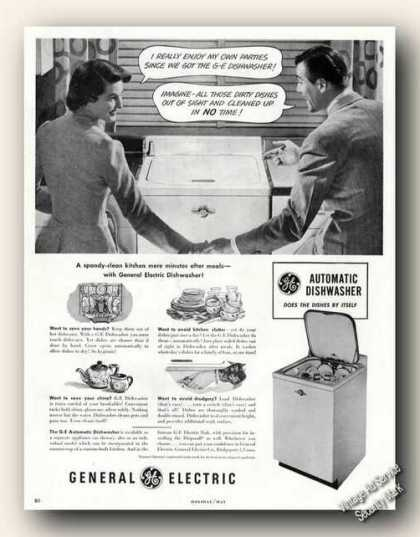 Ge Automatic Dishwasher Collectible (1949)