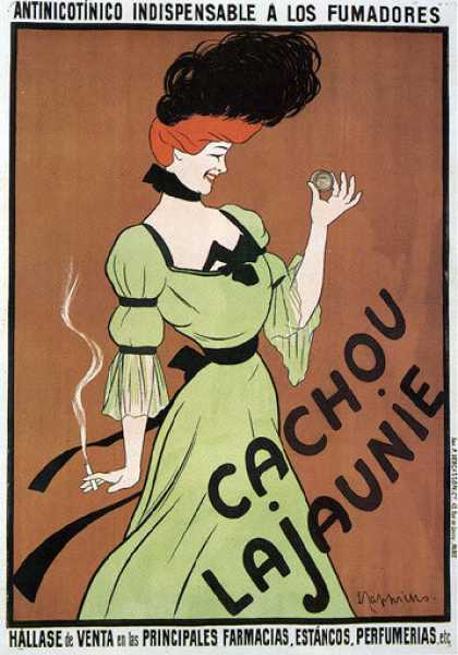 Cachou Lajaunie &#8211; Leonetto Cappiello (1900)