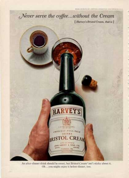 Harvey's Bristol Cream Bottle (1964)
