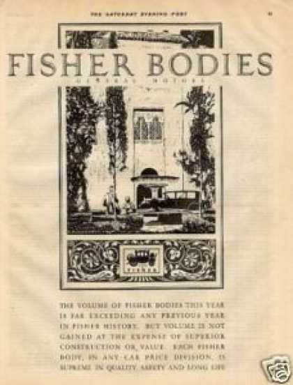 Body By Fisher Car (1926)
