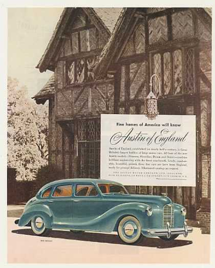 Austin Devon Motor Car Fine Homes of America (1948)