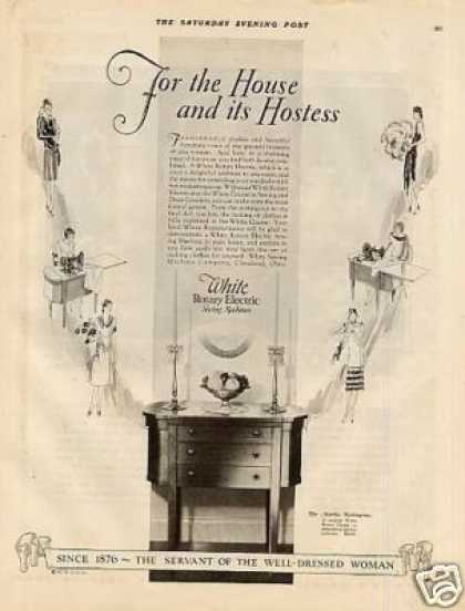 White Sewing Machine (1927)
