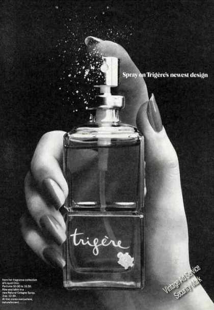 Spray On Trigeres Newest Design Liquid Chic (1975)