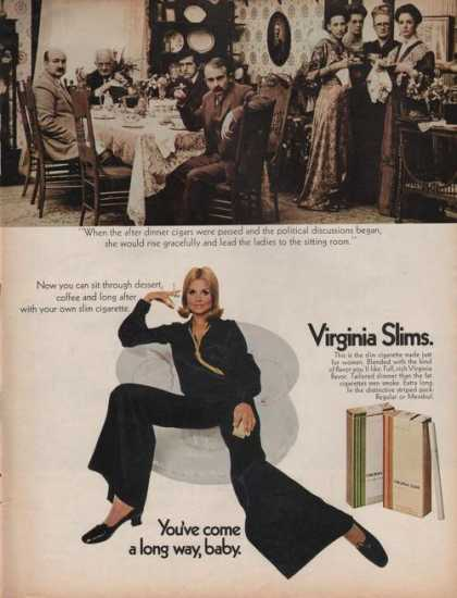 Virginia Slims Cigarettes (1969)