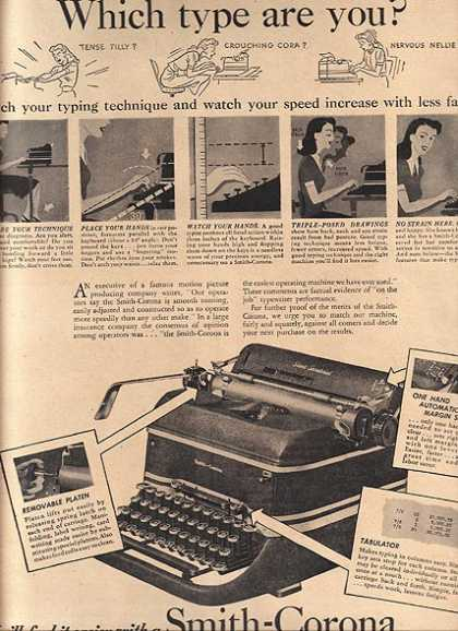 Smith-Corona (Typewriter) (1946)
