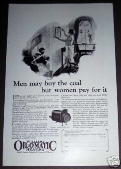 Original Williams Oil O Matic Furnace Burner (1926)
