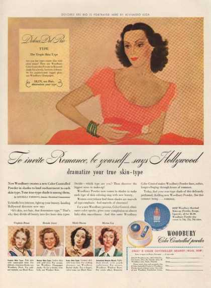 Woodbury Color Controlled Powder (1941)