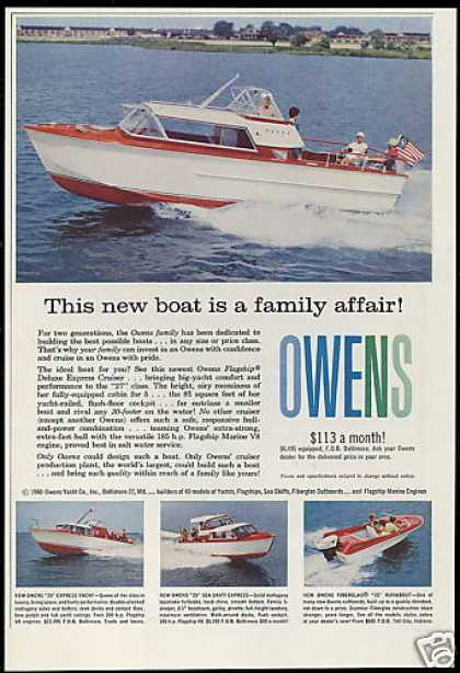 Owens Boat 4 Photo 27, 29, 25, 15 Foot Vintage (1960)