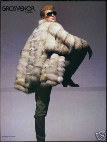 Grosvenor Mongolian Fox Fur Coat Photo (1987)