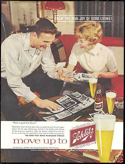 Schlitz Beer Photo Album Vintage (1960)