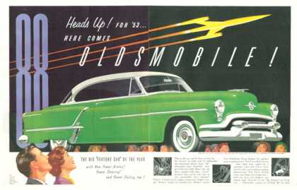 Olds Oldsmobile Super 88 Holiday Coupe (1953)