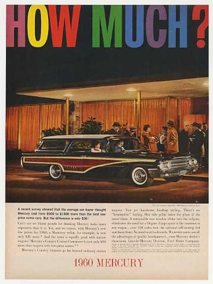 Mercury Colony Park Station Wagon (1960)