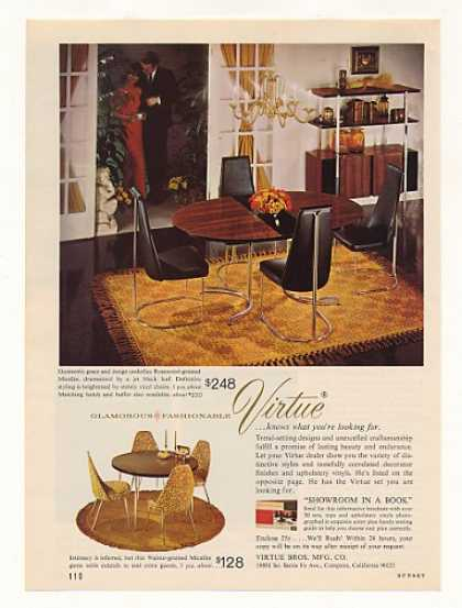 Virtue Rosewood Micalite Dining Table (1966)