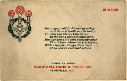 Wachovia Bank & Trust Co. – Wachovia Bank & Trust Co.