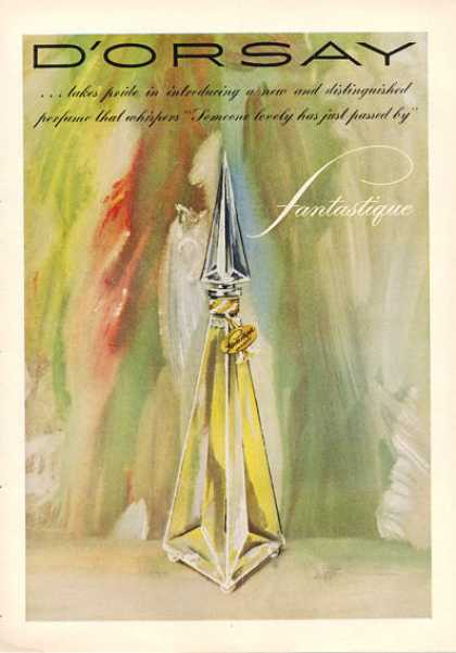 D'orsay Fantastique Perfume Bottle (1953)