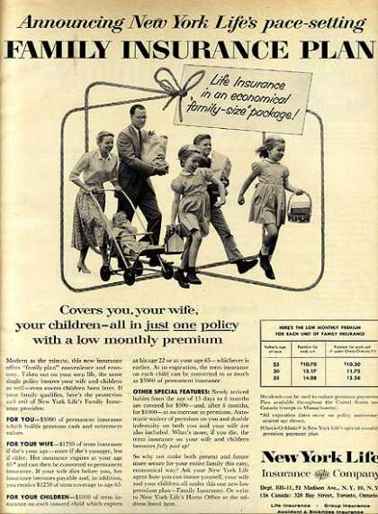 New York Life's Family Insurance Plan (1957)