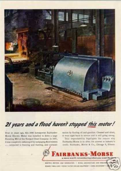 Fairbanks-morse Electric Motor (1953)