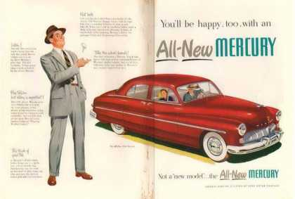 Ford Mercury Two Page Car – Red (1949)