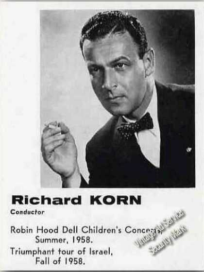 Richard Korn Photo Conductor Trade (1959)