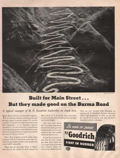 Built for Main Street Goodrich Rubber (1942)