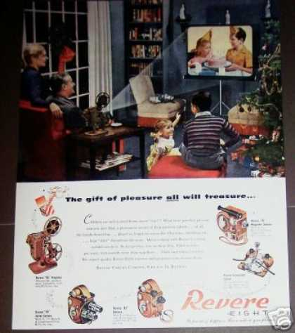 Revere Eight Movie Camera Projector Photo (1947)
