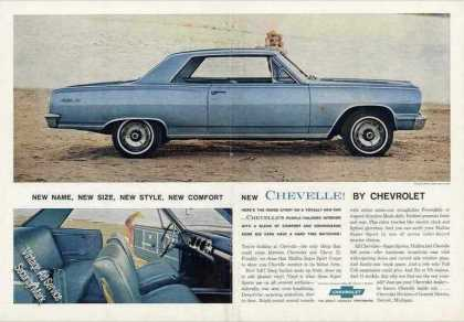 New Chevelle By Chevrolet Large Car (1964)