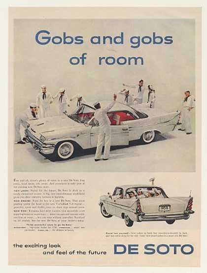 De Soto Fireflite Sailors Gobs of Room (1958)