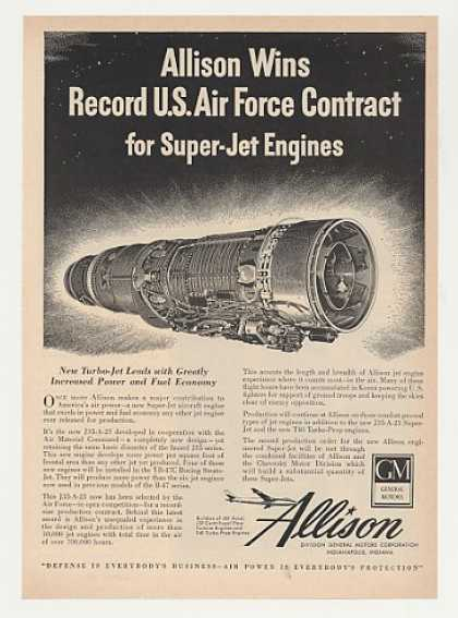 USAF GM Allison J35-A-23 Super-Jet Engine (1951)
