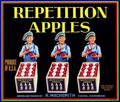 Repetition Apples, c. s (1930)