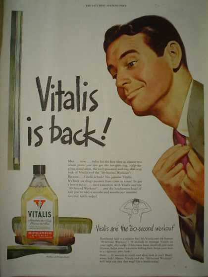 Vitalis and the 60 second workout (1946)