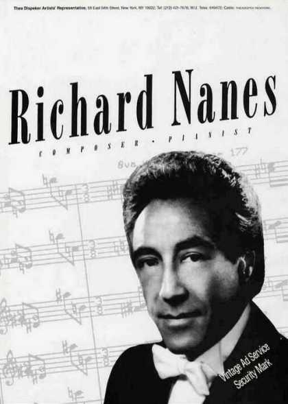 Richard Nanes Photo Composer/pianis (1986)