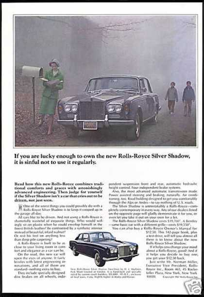 Rolls Royce Silver Shadow Car Photo Use It (1967)