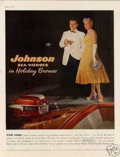 Johnson Sea-horse Outboard Motor (1956)