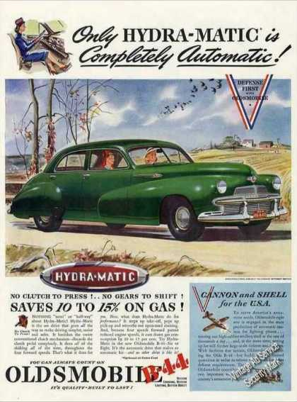 Oldsmobile B-44 With Hydra-matic Drive (1942)