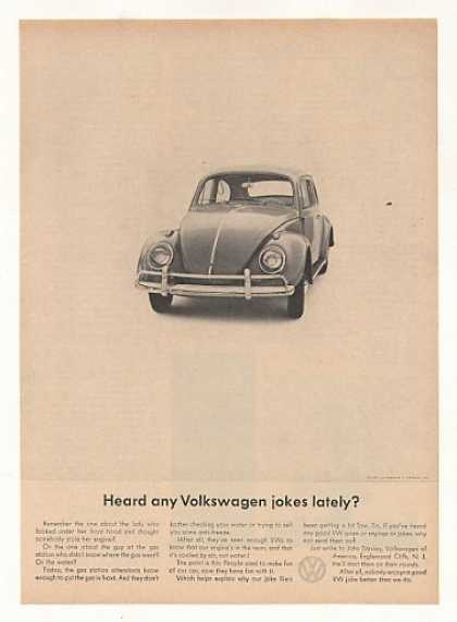 VW Beetle Bug Heard Any Volkswagen Jokes Lately (1963)