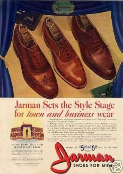 Jarman Mens Shoes (1941)