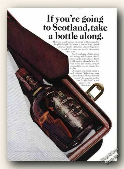 If You're Going To Scotland Take Chivas Regal (1967)