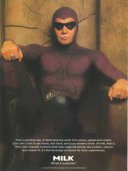 Billy Zane as The Phantom &#8211; Got Milk? &#8211; Sold (1996)