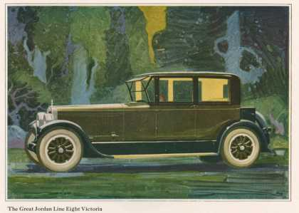 Jordan Line Eight Victoria Car, USA (1925)
