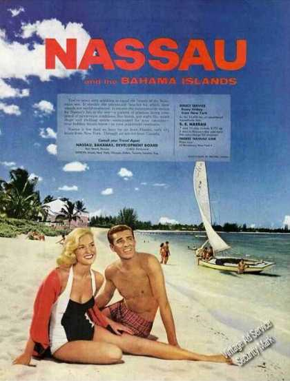 Nassau and the Bahama Islands Color Travel (1957)