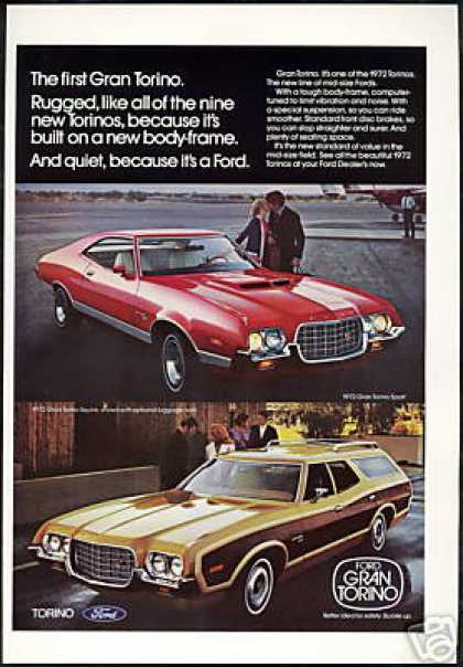 Ford Gran Torino Sport Squire Wagon Photo (1972)