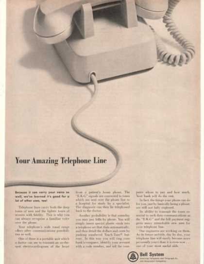 Bell Telephone System Amazing Phone Line (1965)