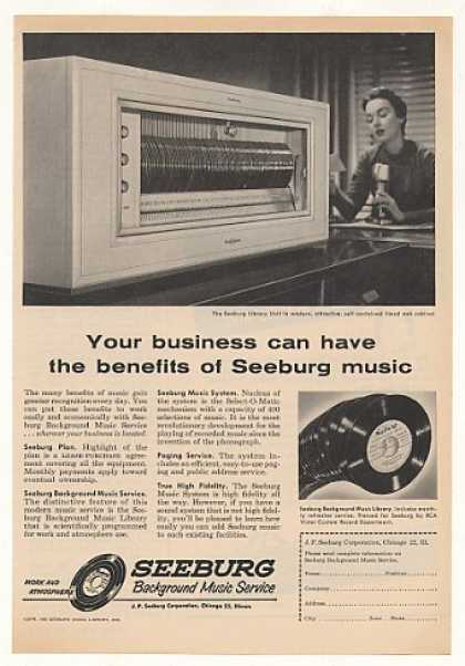 Seeburg Background Music Service Library Unit (1955)