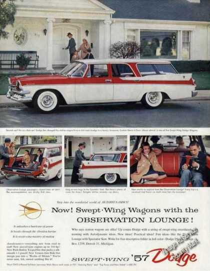 Dodge Custom Sierra 4-door Station Wagon Photos (1957)