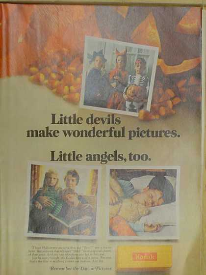 Kodak Film. Little Devils make wonderful pictures (1968)
