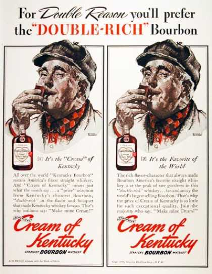 Cream of Kentucky Whiskey (1940)