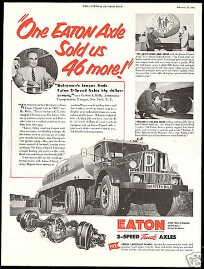 Eaton Truck Axles Dairylea Milk York (1954)