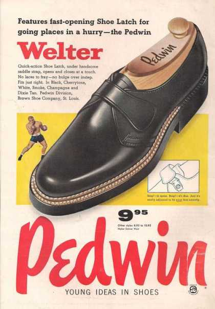 Pedwin Welter Mens Saddle Strap (1957)